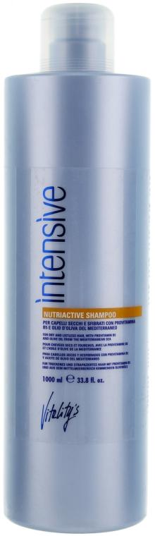 Питательный шампунь для сухих и поврежденных волос - Vitality's Intensive Nutriactive Shampoo