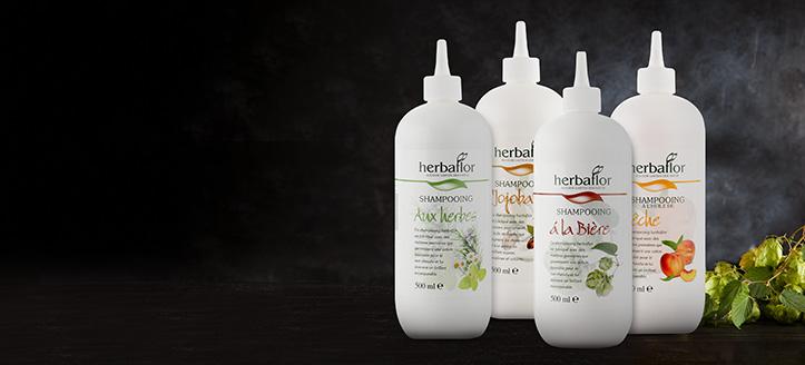 При покупке двух товаров Herbaflor, получите в подарок шампунь на выбор