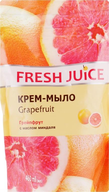 """Крем-мыло с увлажняющим молочком """"Грейпфрут"""" - Fresh Juice Grapefruit (сменный блок)"""