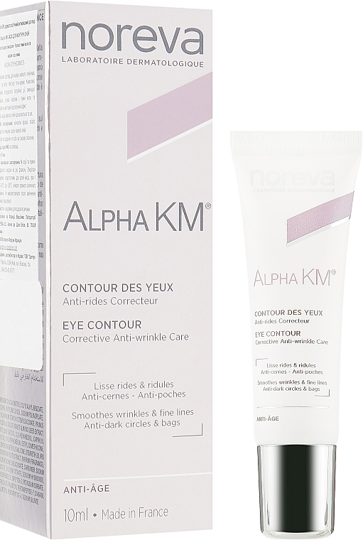 Антивозрастной крем для кожи вокруг глаз - Noreva Laboratoires Alpha KM Eye Contour