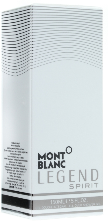 Montblanc Legend Spirit - Гель для душа