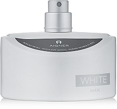 Духи, Парфюмерия, косметика Aigner White Man - Туалетная вода (тестер без крышечки)