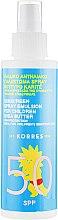 Духи, Парфюмерия, косметика Солнцезащитная эмульсия для детей SPF50 с маслом ши - Korres Sunscreen Emulsion for Children