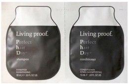 Духи, Парфюмерия, косметика Набор - Living Proof Perfect Hair Day (shm/mini/10ml + cond/mini/10ml)