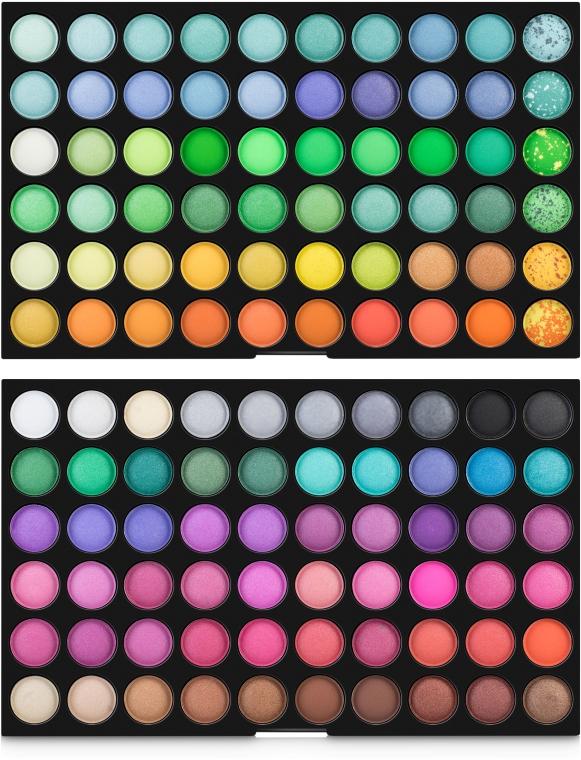 Профессиональная палетка теней для век 120 цветов - King Rose 01