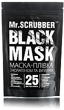 Духи, Парфюмерия, косметика УЦЕНКА Черная коллагеновая маска-пленка для лица - Mr.Scrubber Black Mask *