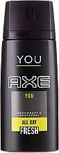 Духи, Парфюмерия, косметика Дезодорант-спрей - Axe You Deodorant Spray