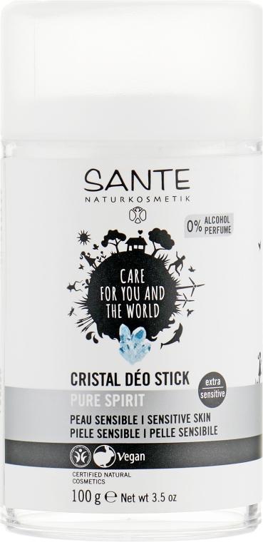 Дезодорант сухой для сверхчувствительной кожи, неароматизированный - Sante Body Care Crystal Deo Stick