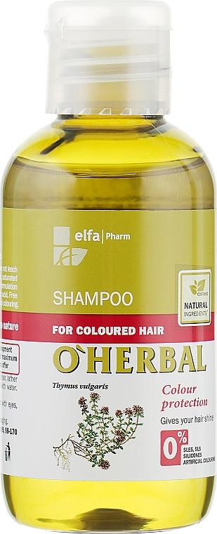"""Шампунь для окрашенных волос """"Сохранения цвета"""" - O'Herbal"""