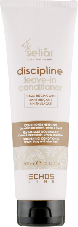 Несмываемый кондиционер для непослушных волос - Echosline Seliar Discipline Leave-In Conditioner