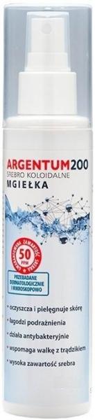 Спрей для лица с коллоидным серебром - Aura Herbals Argentum200 Mist — фото N1