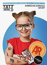 Духи, Парфюмерия, косметика Временные тату - TATTon.me American Animal AR Set