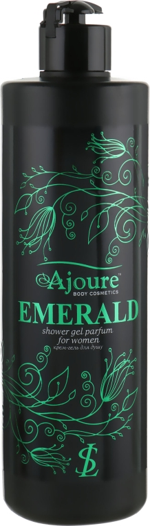 "Крем-гель для душа ""Изумруд"" - Ajoure Emerald Perfumed Shower Gel"