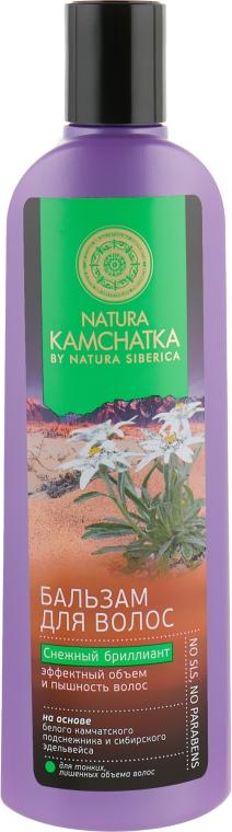 """Бальзам для волос """"Снежный Бриллиант"""" - Natura Siberica Natura Kamchatka Balsam"""