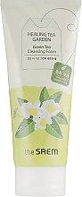 Духи, Парфюмерия, косметика Пенка для умывания - The Saem Healing Tea Garden Green Tea Cleansing Foam