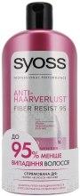 Духи, Парфюмерия, косметика Шампунь против выпадения волос - Syoss Anti-Hairfall Fiber Resist 95