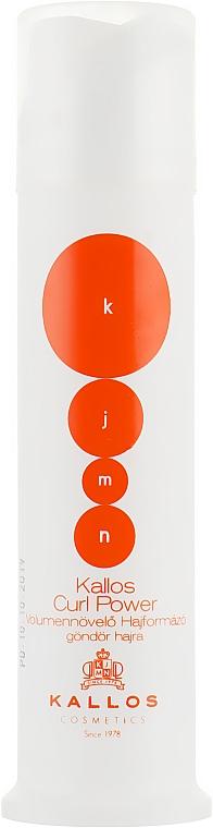 Крем для фиксации вьющихся волос - Kallos Cosmetics Curl Power Styling Cream