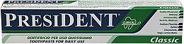 """Духи, Парфюмерия, косметика Зубная паста """"Classic Clinical"""" - PresiDENT"""