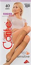 Духи, Парфюмерия, косметика Гольфы для женщин «Tension Soft» 40 Den, 1 пара, natural - Conte