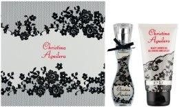 Духи, Парфюмерия, косметика Christina Aguilera Signature - Набор (edp 15+ sh/g 50)