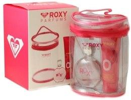 Духи, Парфюмерия, косметика Roxy Women - Набор (edt 100 + b/l 150 + sh/g 150)