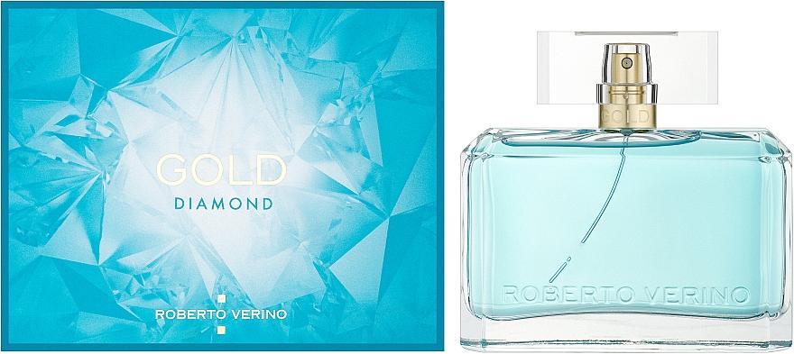 Roberto Verino Gold Diamond - Парфумована вода (тестер з кришечкою) — фото N2