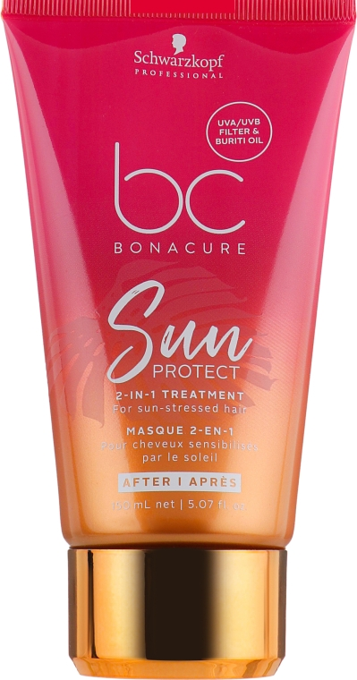 Маска 2-в-1 после солнечного воздействия - Schwarzkopf Bonacure Sun Protect 2-in-1 Treatment