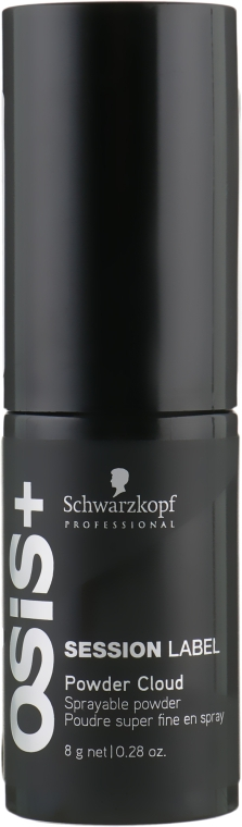 Спрей-пудра - Schwarzkopf Professional Osis+ Session Label Powder Cloud