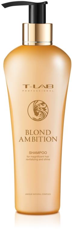 Шампунь для роскошной ревитализации волос и блеска - T-LAB Professional Blond Ambition Shampoo