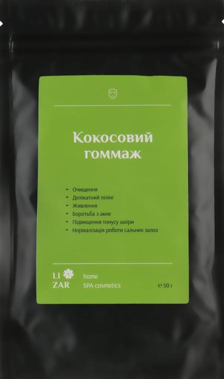 Кокосовый гоммаж для лица - Li'zar Coconut Face Scrub