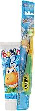 Духи, Парфюмерия, косметика Набор 6+ - Bobini (toothbrush + toothpaste/75ml)
