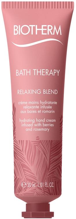 Увлажняющий крем для рук с экстрактом ягод и розмарина - Biotherm Bath Therapy Relaxing Blend Hand Cream