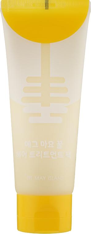 Маска для волос питательная - May Island Egg Mayonnaise Honey Hair Treatment Pack