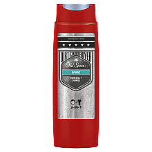 Духи, Парфюмерия, косметика Шампунь-гель для душа 2в1 - Old Spice Dirt Destroyer Sport Shower Gel + Shampoo