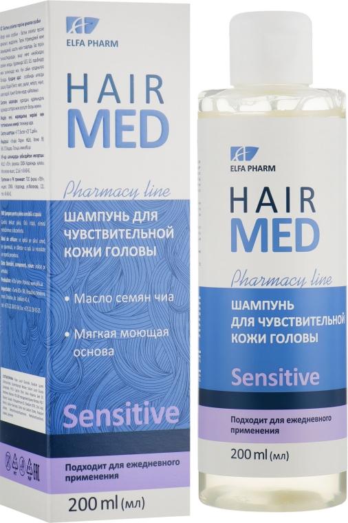 Шампунь для чувствительной кожи головы - Elfa Pharm Hair Med