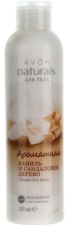 "Лосьон для тела ""Ароматная ваниль и сандаловое дерево"" - Avon"