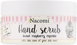 Духи, Парфюмерия, косметика Сахарный пилинг для рук с ароматом малины - Nacomi Sugar Hand Peeling