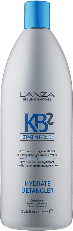 Увлажняющий кондиционер для волос - L'anza Keratin Bond 2 Hydrate Detangler