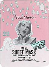 Духи, Парфюмерия, косметика Тонизирующая маска-патч для лица - Petite Maison Facial Sheet Mask