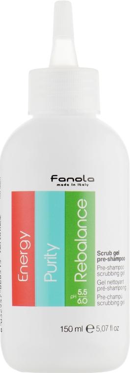"""Пре-шампунь """"Пилинг для кожи головы"""" - Fanola Pre-Shampoo Scrubbing Gel"""