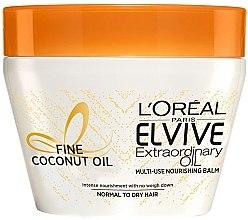 Духи, Парфюмерия, косметика Питательная маска для нормальных и сухих волос - L'Oreal Paris Elseve Extraordinary Oil Coconut Hair Mask