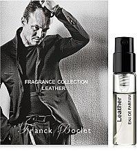 Духи, Парфюмерия, косметика Franck Boclet Leather - Парфюмированная вода (пробник)