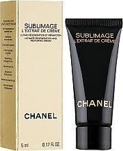Духи, Парфюмерия, косметика Крем-экстракт для регенерации и восстановления кожи - Chanel Sublimage L`Extrait De Creme (пробник)