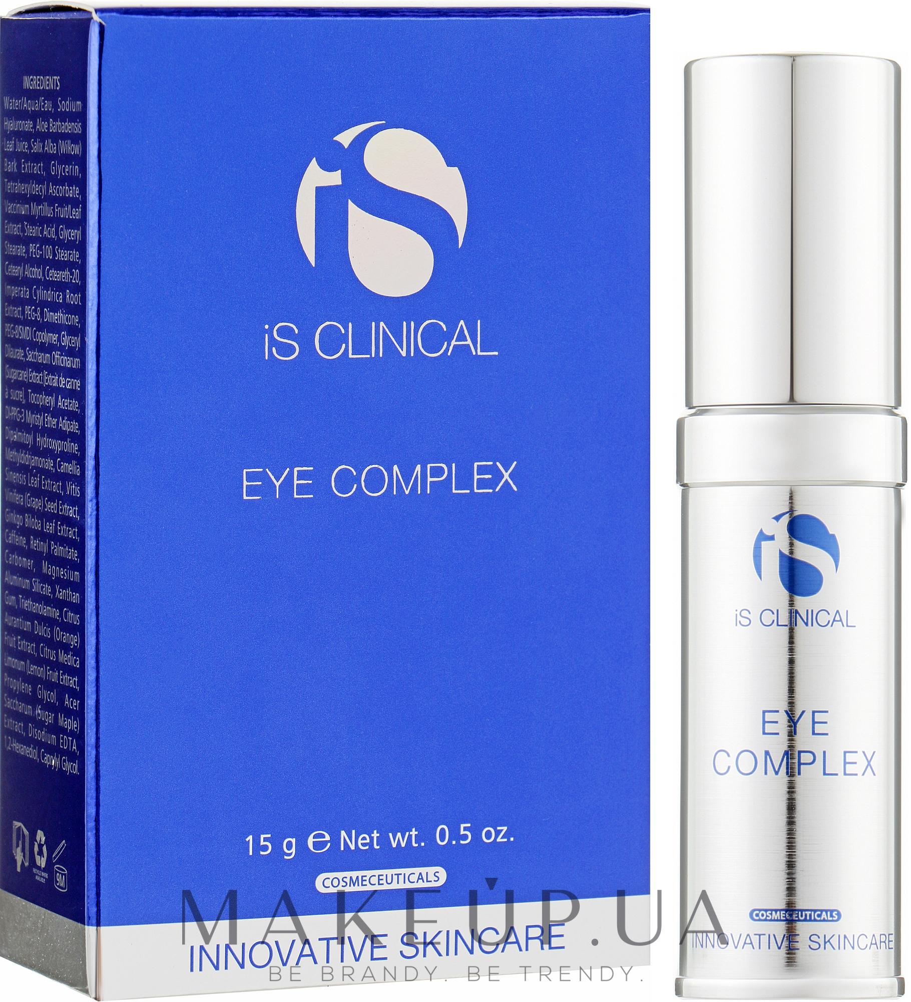 Крем для ухода вокруг глаз - iS Clinical Eye Complex — фото 15ml