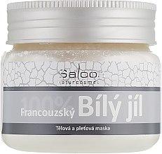 Духи, Парфюмерия, косметика Французская белая глина для лица и тела - Saloos French White Clay