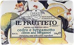 """Духи, Парфюмерия, косметика Мыло """"Лимон и Бергамот"""" - Nesti Dante Il Frutteto Soap"""