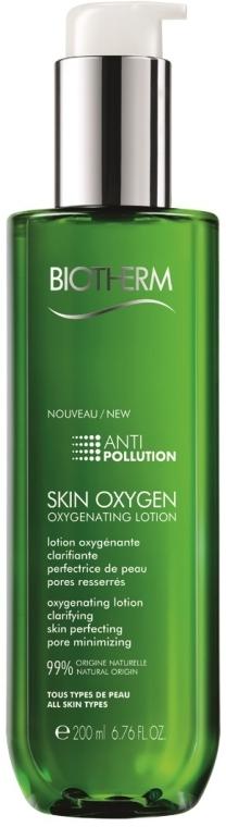 Лосьон для очищения и сужения пор - Biotherm Skin Oxygen Oxygenating Lotion