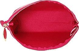 Косметичка купол, бордовая - Clarins — фото N5
