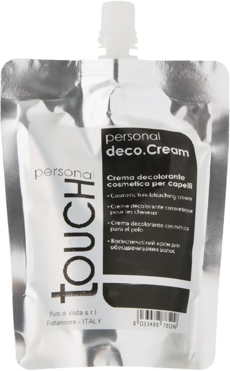 Крем для обесцвечивания волос - Punti Di Vista Personal Touch Deco Cream