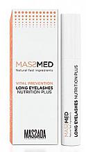 Духи, Парфюмерия, косметика Питательная сыворотка для ресниц - Massada MassMed Long Eyelashes Nutrition Plus